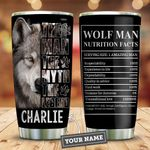 Wolf Man Myth Legend Personalized KD2 HNM0511009 Stainless Steel Tumbler