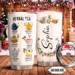 Herbal Tea Personalized TTR0511019 Stainless Steel Tumbler