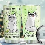 Siamese Cat Tea Personalized NNR0511007 Stainless Steel Tumbler