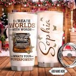 Writer Personalized TTR0511022 Stainless Steel Tumbler
