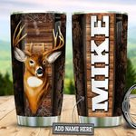 Personalized Deer TAZ0511010 Stainless Steel Tumbler