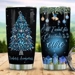 Diabetes Awareness Christmas TAZ0511003 Stainless Steel Tumbler