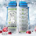 Siamese Cat Tea Personalized NNR0511001 Water Tracker Bottle