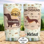 Dachshund Personalized KD2 BGX0511003 Stainless Steel Tumbler