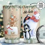 Christmas Animals Personalized HTC0611002 Stainless Steel Tumbler