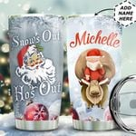 Christmas Santa Claus Personalized HTC0611005 Stainless Steel Tumbler