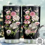 Vintage Butterfly Spring Personalized HTQ0611012 Stainless Steel Tumbler