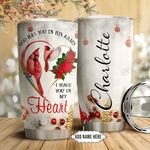 Cardinal Faith Personalized NNR0611006 Stainless Steel Tumbler