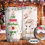 Christmas Personalized NNR0611009 Stainless Steel Tumbler