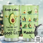 Avocado Workout Personalized THA0611020 Stainless Steel Tumbler