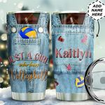 Volleyball Personalized THA0611022 Stainless Steel Tumbler