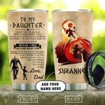 Vikings Father And Daughter Personalized KD2 HAL0611014 Stainless Steel Tumbler
