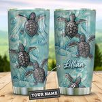 Ceramic Style Baby Turtle Personalized KD2 ZZL0611005 Stainless Steel Tumbler