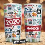 2020 Features For You Personalized KD2 ZZL0611001 Stainless Steel Tumbler