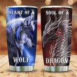 Wolf Heart Dragon Soul KD2 HNM0611010 Stainless Steel Tumbler