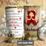 Christmas Letter To Santa Personalized DNS0611016 Stainless Steel Tumbler