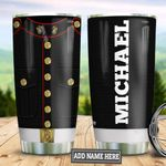 Personalized US Marine Corps Uniform TAZ0611017 Stainless Steel Tumbler