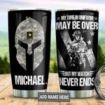Personalized US Army Veteran TAZ0611016 Stainless Steel Tumbler