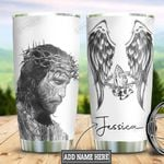 Personalized Jesus Faith HLZ0611011 Stainless Steel Tumbler