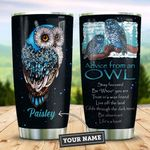 Owl Advice Personalized KD2 ZZL0911011 Stainless Steel Tumbler