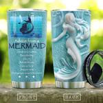 Ceramic Style Mermaid Advice KD2 HAL0911003 Stainless Steel Tumbler