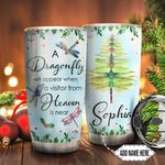 Dragonfly Christmas Personalized TTR0911005 Stainless Steel Tumbler