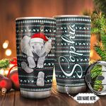 Elephant Christmas Personalized TTR0911006 Stainless Steel Tumbler