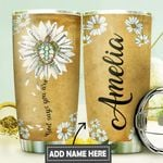 Turtle Faith Personalized DNR0911015 Stainless Steel Tumbler
