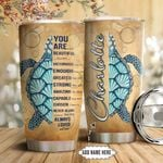Turtle Faith Personalized NNR0911016 Stainless Steel Tumbler