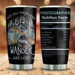 Wander Photography Nutrition Facts KD2 HNM0911006 Stainless Steel Tumbler