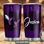 Personalized Purple Mandala Hummingbird HLZ0911015 Stainless Steel Tumbler