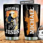 Personalized Fueled By Jesus PYZ0911007 Stainless Steel Tumbler