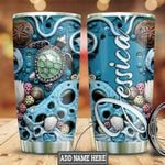 Personalized Ocean Turtle HLZ0911014 Stainless Steel Tumbler