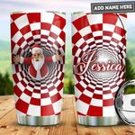 Personalized Christmas Santa Claus PYZ0911005 Stainless Steel Tumbler