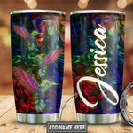 Personalized Colorful Hummingbird HLZ0911006 Stainless Steel Tumbler