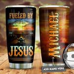 Personalized Jesus Faith Biker PYZ0911010 Stainless Steel Tumbler