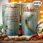 To Daughter Swimming Personalized HHA0911019 Stainless Steel Tumbler