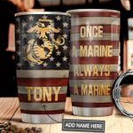 Marine Personalized MDA0911005 Stainless Steel Tumbler
