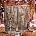 Deer Hunt Personalized HHA0911015 Stainless Steel Tumbler