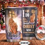 Jesus Bible Personalized HHA0911016 Stainless Steel Tumbler