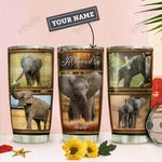 Elephant Personalized THA0911023 Stainless Steel Tumbler