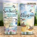 Sea Turtle Personalized KD2 HRX0911008 Stainless Steel Tumbler