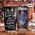 Black Women God Personalized HHS0911006 Stainless Steel Tumbler