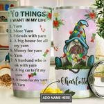 Crochet Personalized MDA1011003 Stainless Steel Tumbler