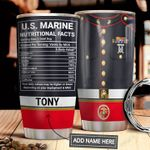 Marine Facts Personalized MDA1011005 Stainless Steel Tumbler