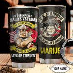 Marine Personalized THA1011023 Stainless Steel Tumbler