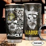 Marine Personalized THA1011024 Stainless Steel Tumbler
