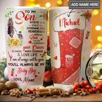 To Son Personalized MDA1011007 Stainless Steel Tumbler