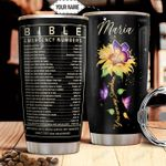 Bible Number Personalized THA1011016 Stainless Steel Tumbler