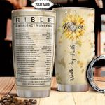 Bible Number Personalized THA1011017 Stainless Steel Tumbler
